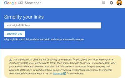 Google Discontinues URL Shortening Service on Chrome